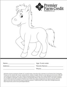 5 and under coloring page