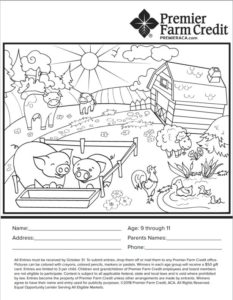 Ages 9 to 11 coloring page
